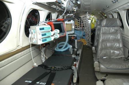 Ambulansflyg ägs av landsting / regioner, flygoperatör upphandlas